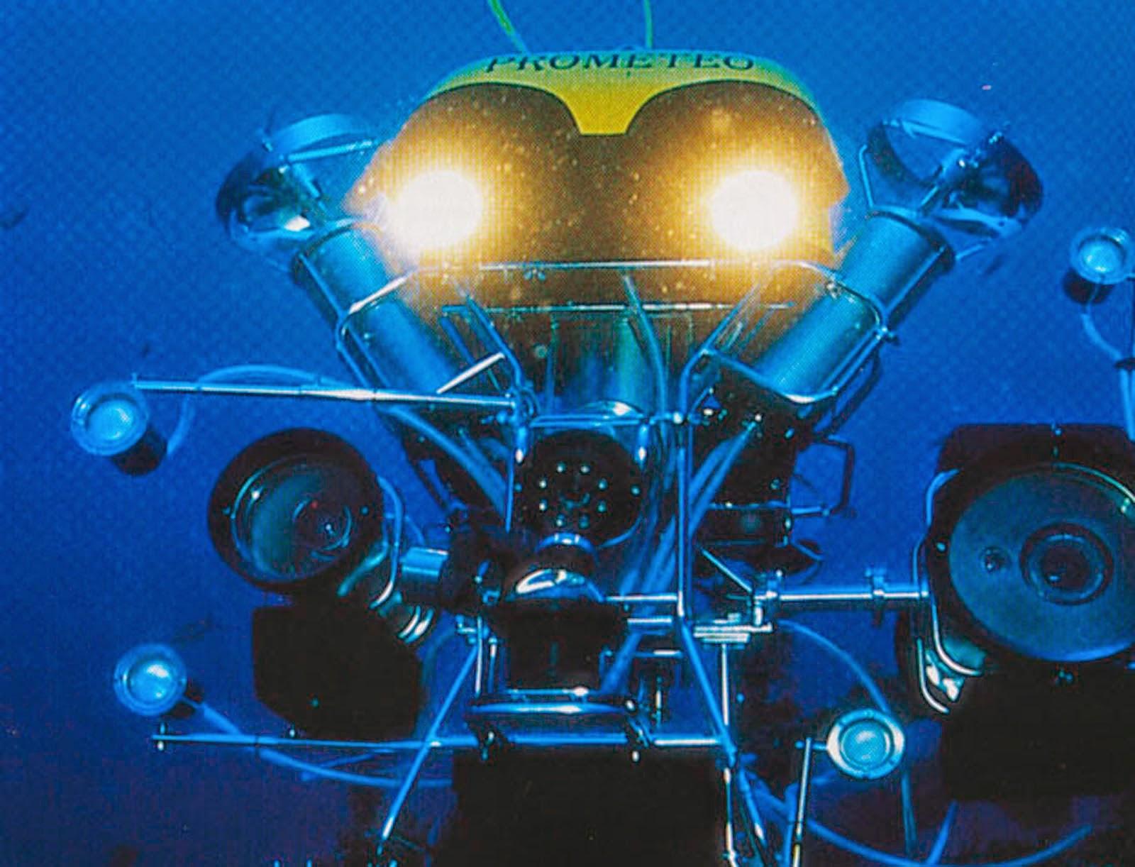 Tecnologia d'avanguardia per le ricerche marine