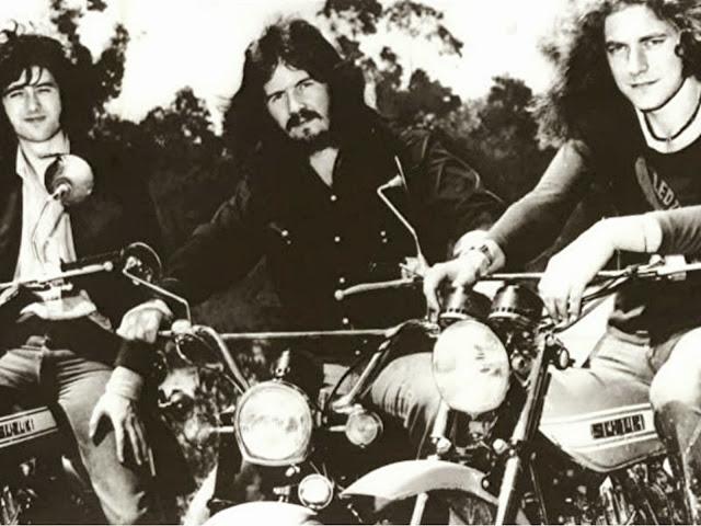 Page, Bonham et Plant en Suzuki!