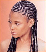 Hairstyles - Women Cornrows