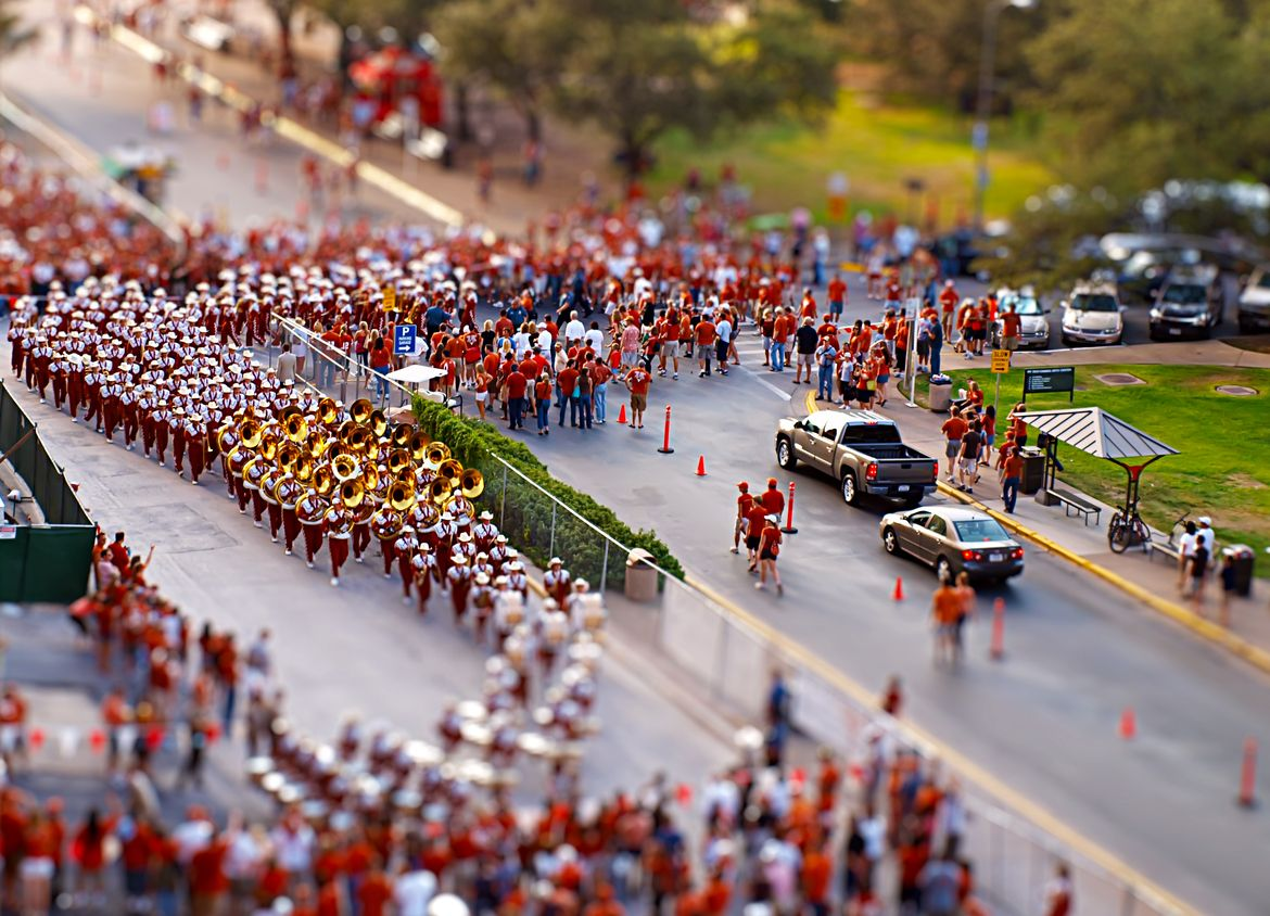 10. Photograph Showband of the Southwest - Tilt Shift by AustinPixels