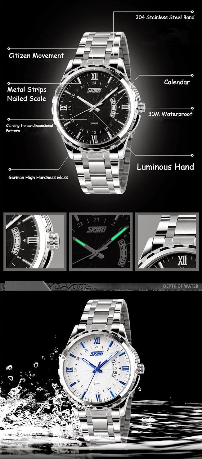 Đặc tính đồng hồ skmei 9069