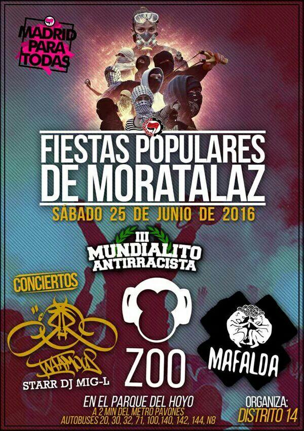 25 junio Fiestas populares Moratalaz