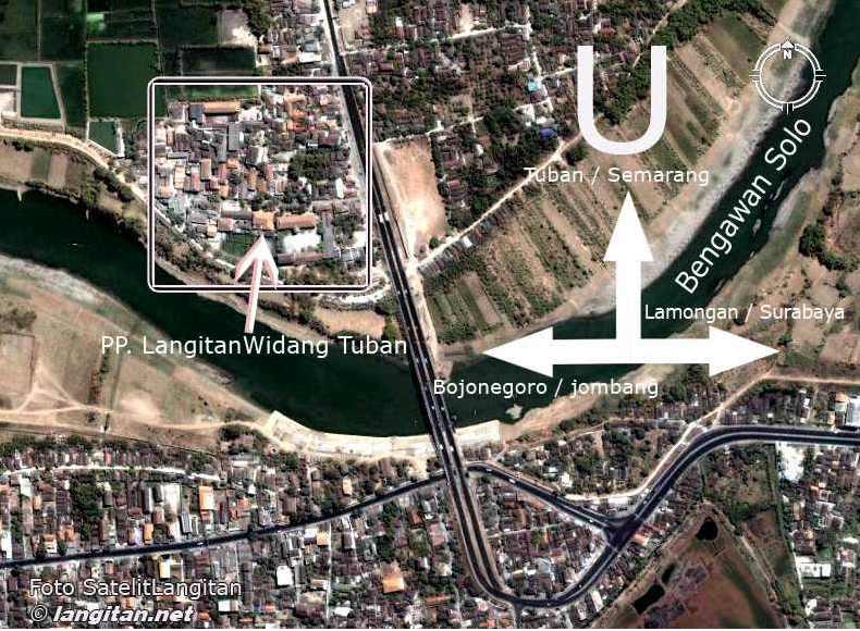 Lokasi Pondok Pesantren Langitan