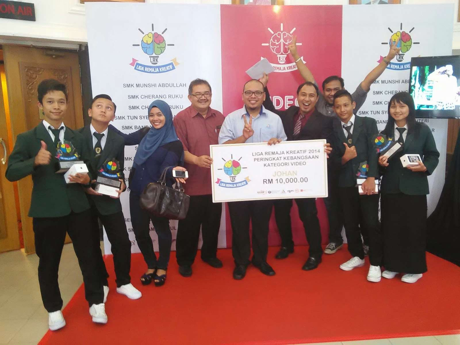 Pemenang Liga Remaja Kreatif 2014 : SMK Luar Bandar No.1 Sibu Sarawak