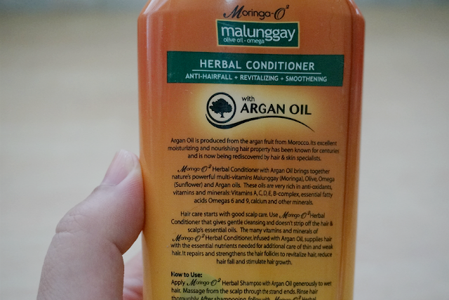 Moringa O2 Herbal Conditioner with Argan Oil