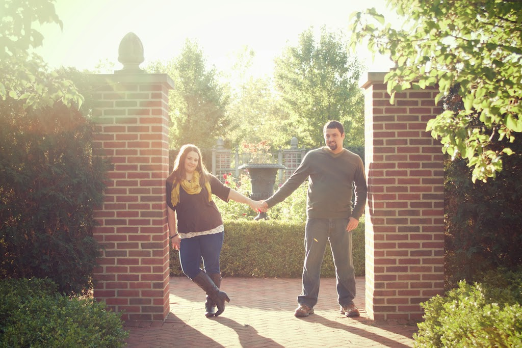 Fall engagement photo session in East Lansing, MI. Tammy Sue Allen Photography.