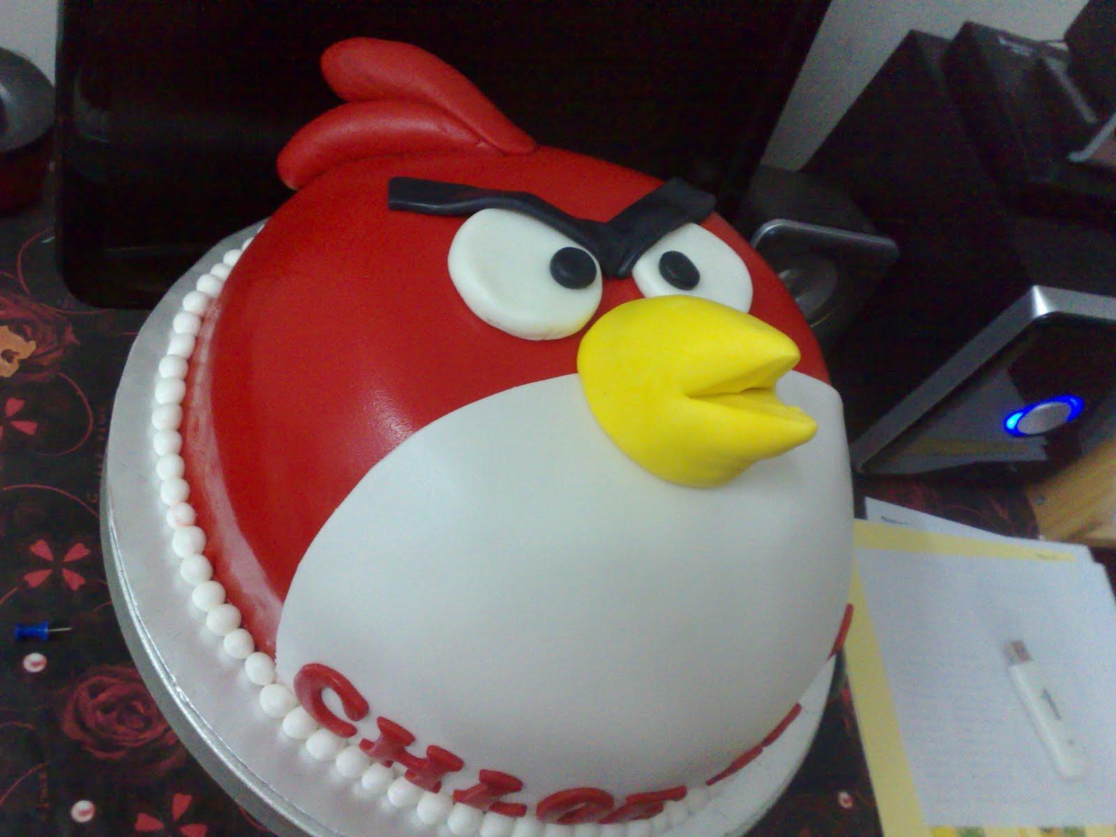 Cake With Fondant Bird : L mis Cakes & Cupcakes Ipoh Contact : 012-5991233 : 2D ...
