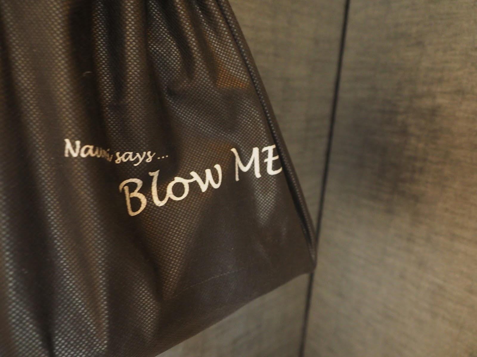 naumi hotel boutique singapore funny amenity kit saying blow me