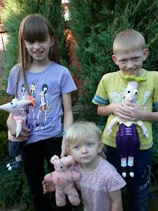 Moje trzy skarby: Ania, Paweł i Agnieszka