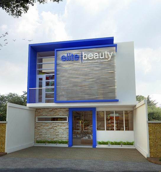 JASA INTERIOR EKSTERIOR 3D: Jasa Design Eksterior Tampak Depan Klinik ...