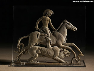 Bellerophon and the winged horse