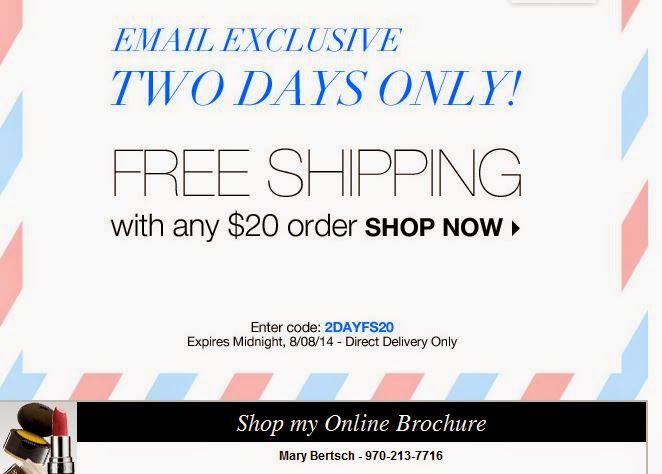 Avon coupon code August 2014