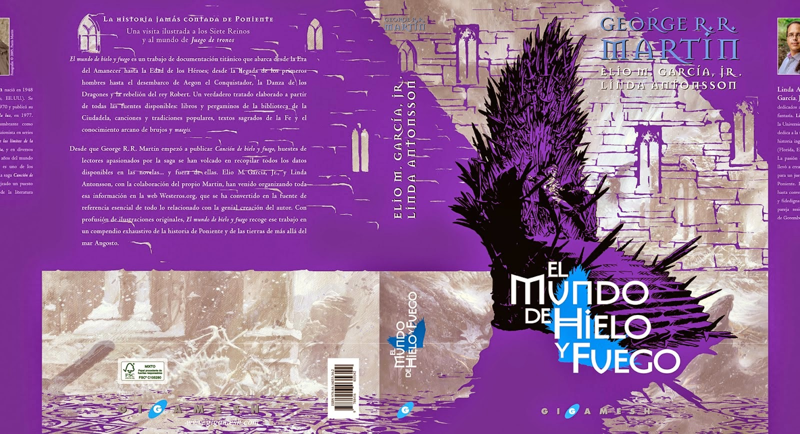 And the book jacket