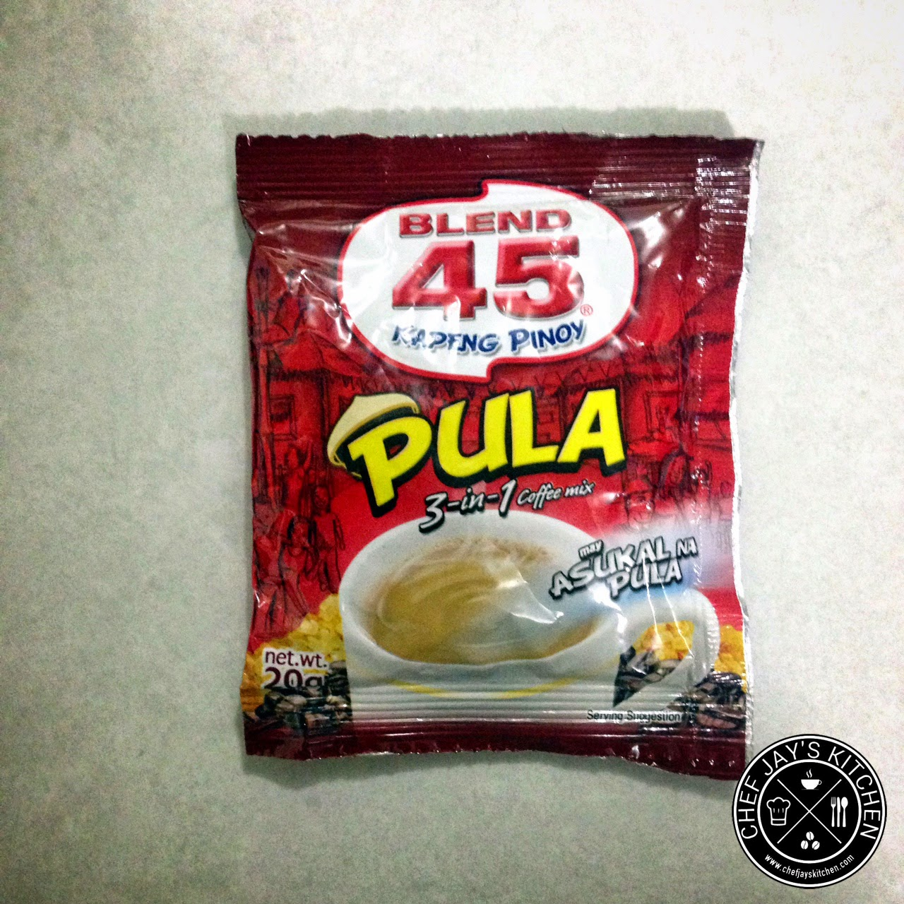 Brown Coffee Brands in the Philippines Review - Blend 45 Pula