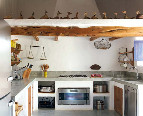 blog de decoração  Arquitrecos Cozinhar com o pé na roça # Bancada De Pia De Cozinha Rustica