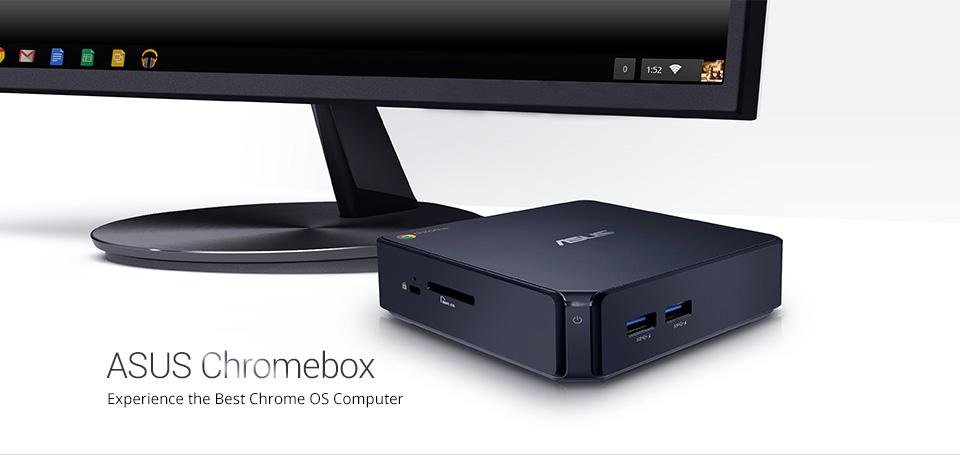 まさかの2万円を切った。ASUSの「Chromebox」がリビングの新しい形になりそう。