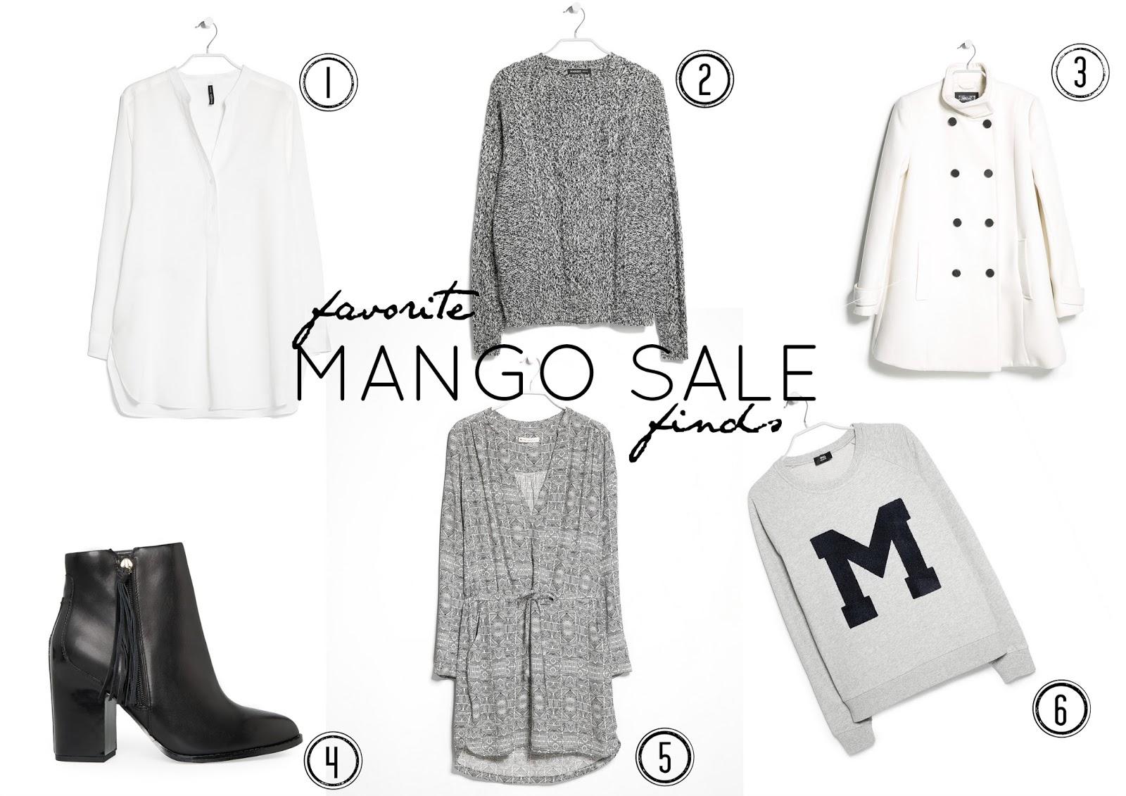 Mango Sale TheBlondeLion Monochrome Black White