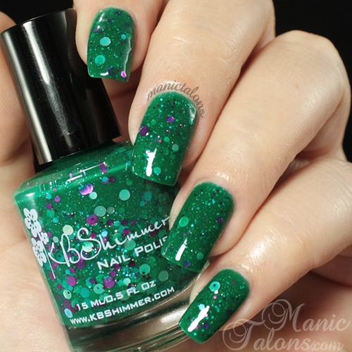 KBShimmer Sea You Around Swatch