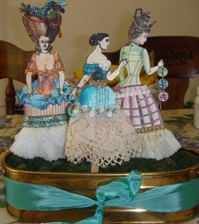 Paper Doll Garden