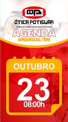 Nessa terça-feira (23/10) tem consulta na ÓTICA POTIGUAR em Umarizal-RN, agende já
