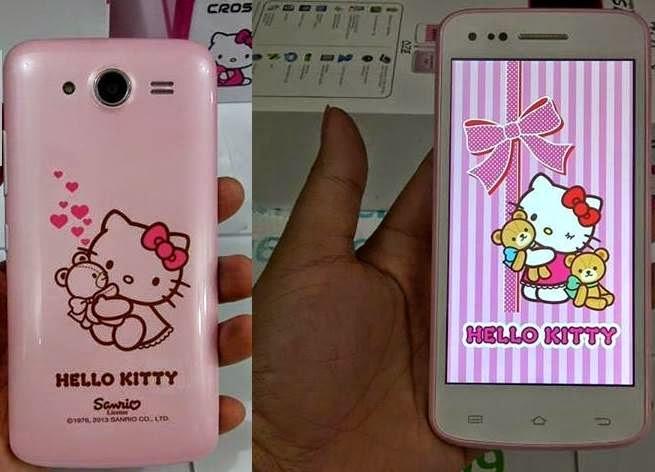 Evercoss A7S Hello Kitty