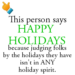 This person says happy holidays and here 39 s why with for Why is it merry christmas and not happy christmas