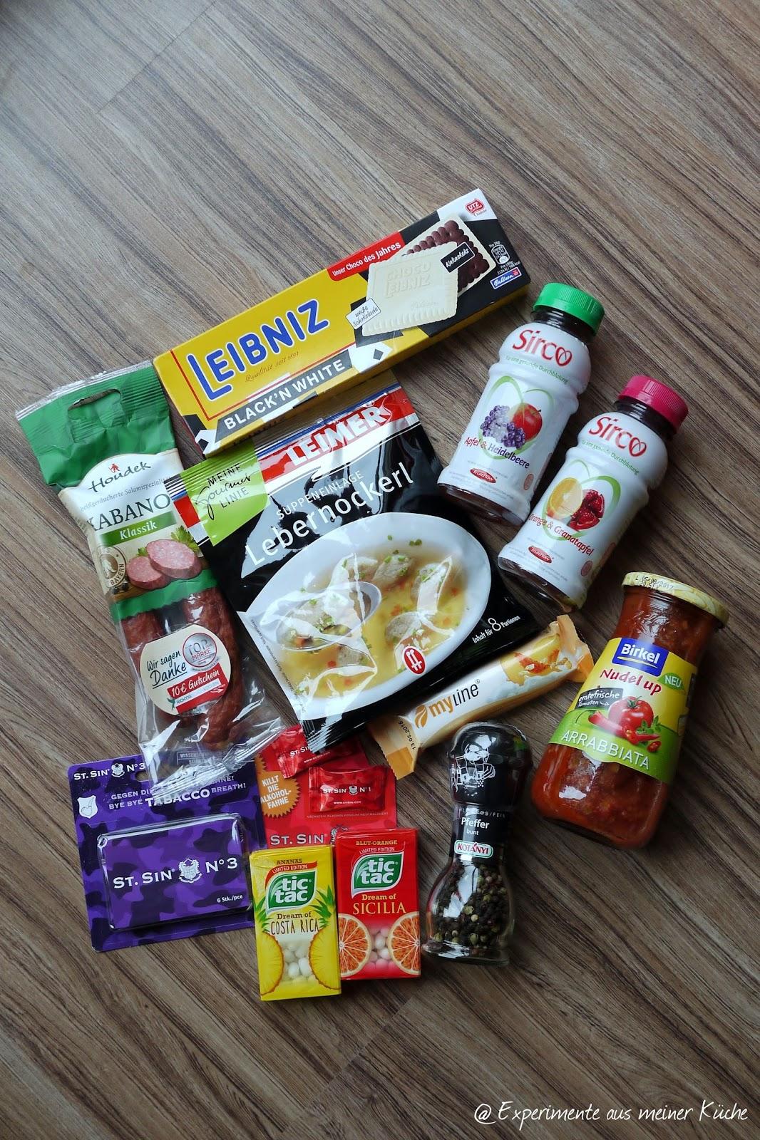 Experimente aus meiner Küche: Degustabox September