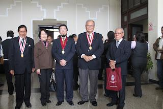 UNI entregó título de Docente Honorario al Dr. Marino Morikawa por sus contribuciones al medio ambiente