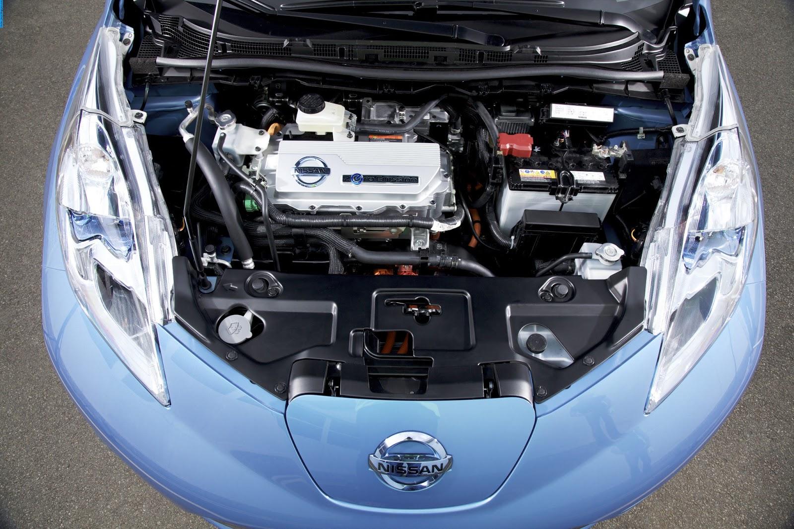 Nissan leaf car 2011 engine - صور محرك سيارة نيسان ليف 2011