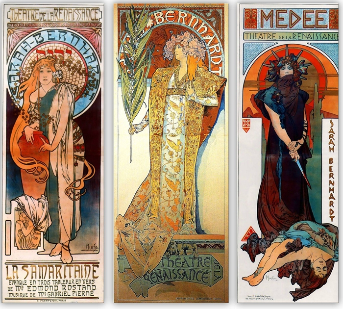 Alphonse Maria Mucha | 1860-1939 - Arts and Craft Movement