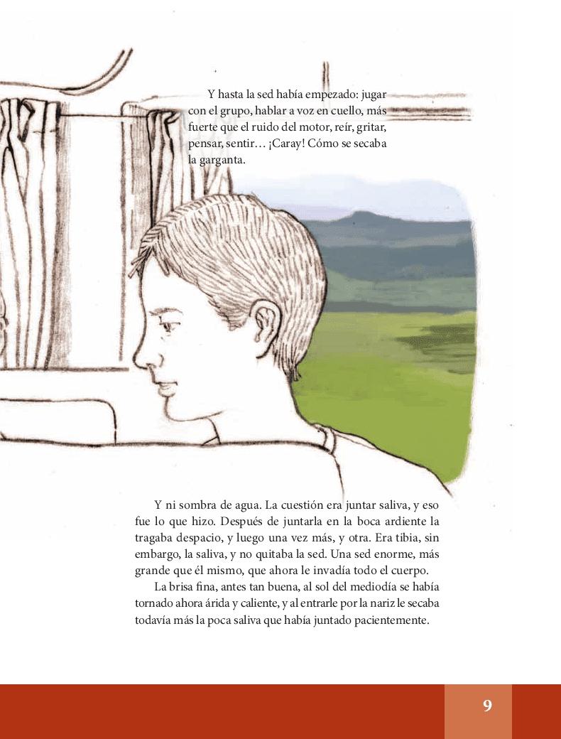 El primer beso - Español Lecturas 6to 2014-2015