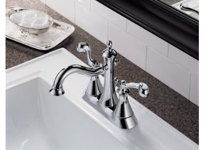 Delta 25925LF Vessona Two Handle Centerset Lavatory Faucet