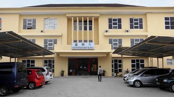 Gedung Samsat Balaraja Dipercantik