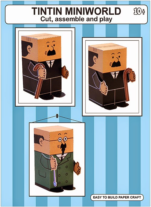 Thomson and Thompson Paper Toy