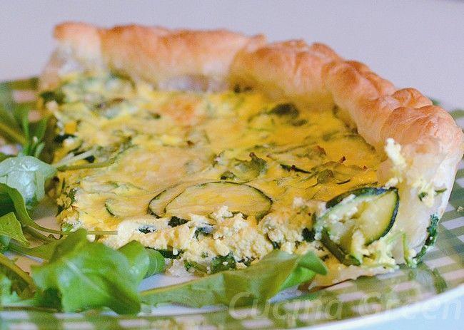 torta salata di sfoglia con verdure