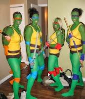 disfraces de las tortugas ninja