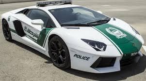Lamborghini Aventador policía dubai