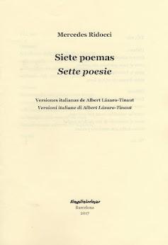 SIETE POEMAS – Plaquete bilingüe