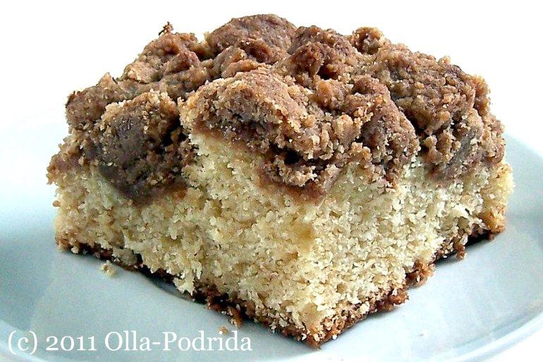 Olla-Podrida: New York-Style Crumb Cake
