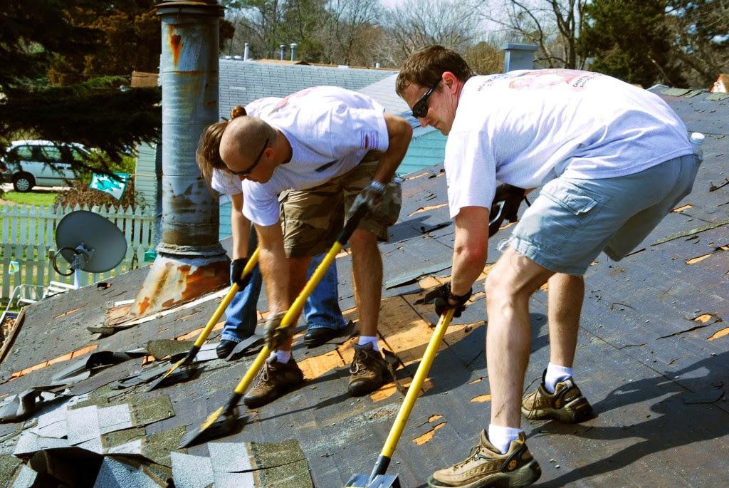 Sửa, chống thấm mái nhà