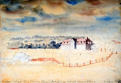 Семково на рисунке Наполеона Орды