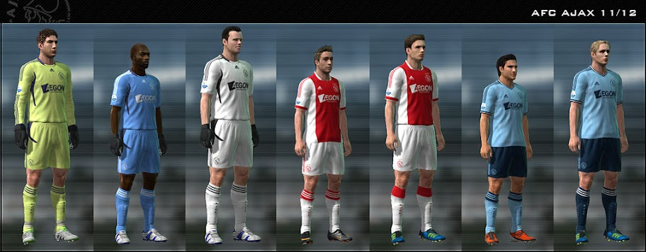 Ajax 11-12 Kit Set by Dark Nero