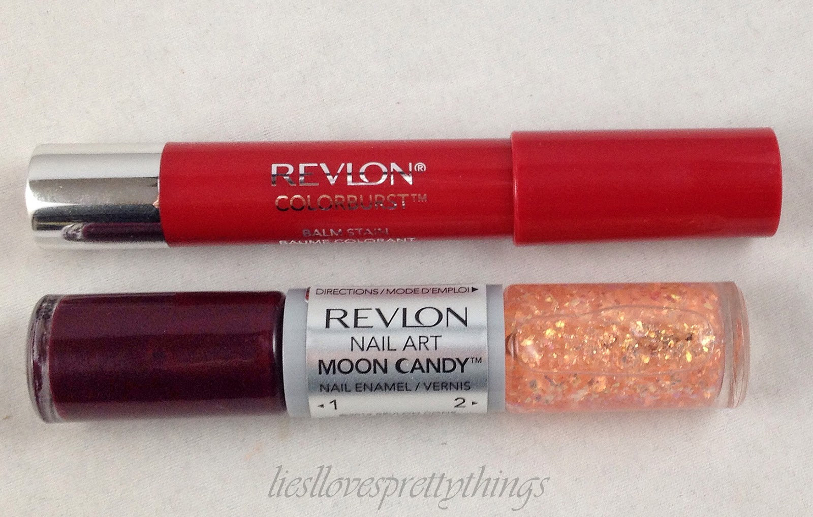 Revlon Moon Candy Satellite and Balm Stain Romantic