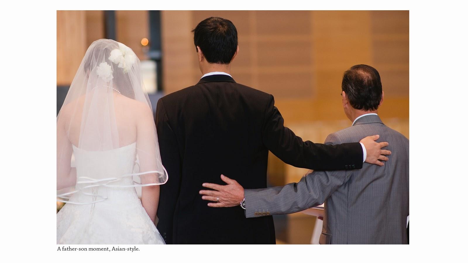 wedding photography singapore sentosa dad