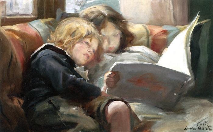 Laura Muntz Lyall. La hora de los Niños