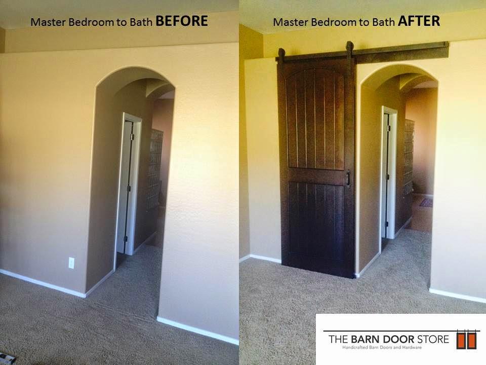 Master Bathroom Barn Door arizona barn doors: 2014