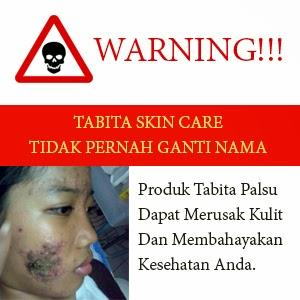 Waspada Tabita Skin Care Palsu