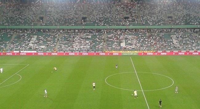 Przerwa w meczu Legia Warszawa - Celtic Glasgow - fot. Tomasz Janus / sportnaukowo.pl