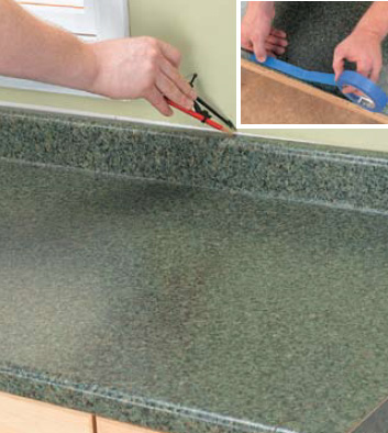... And Bathroom Renovation: How to Install a Post-form Countertop 03