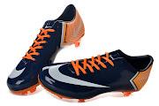 2013 New Nike Mercurial Vapor 10 FG PhotoBlue/White/Orange (new nikemercurilvapor cr fg )